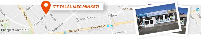 outlet térkép