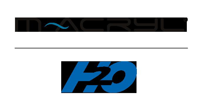 m-acryl h2o logo