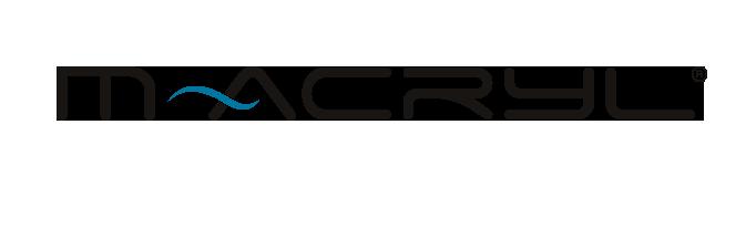 m-acryl logo