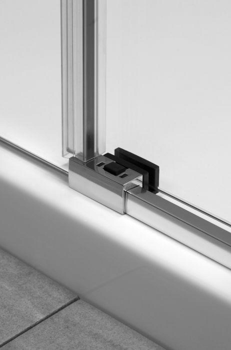 Speciális csúszka biztosítja az ajtók csendes nyílását