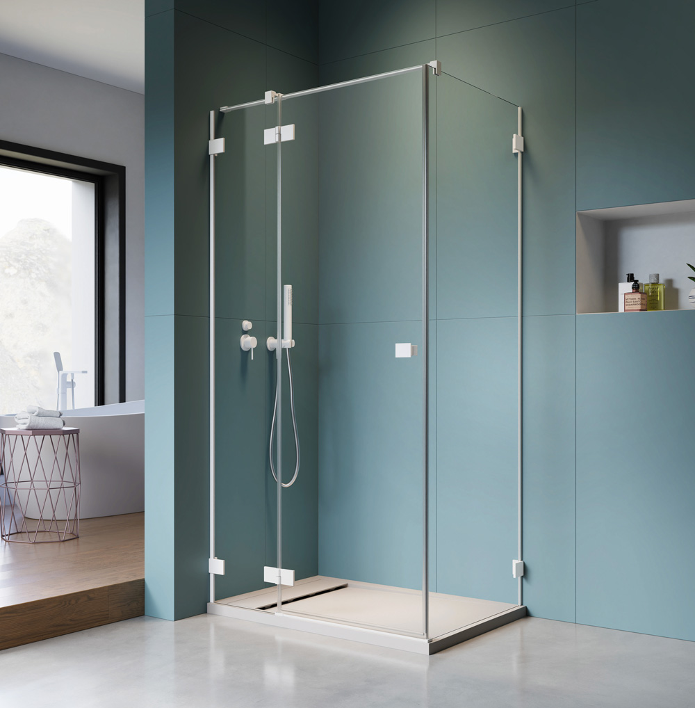 Essenza Pro White KDJ szögletes zuhanykabin