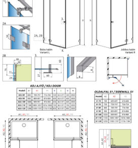 Essenza Pro KDJ technikai rajz