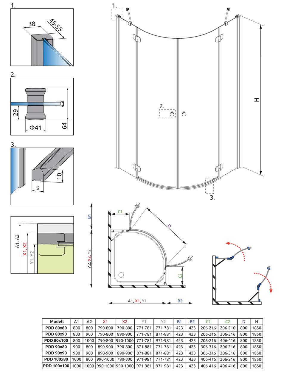 Torrenta PDD műszaki rajz