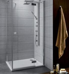 Almatea KDJ szögletes jobbos zuhanykabin