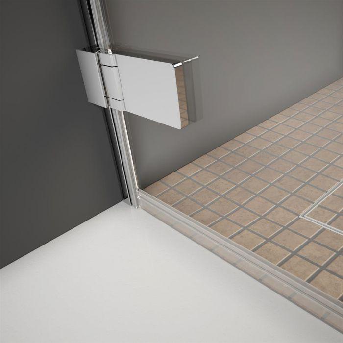 Arta - emelőzsanér a zuhanykabin teljes hosszában