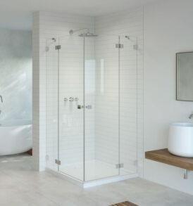 Essenza Pro KDD szögletes zuhanykabin