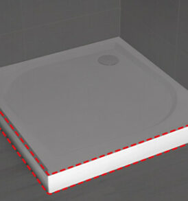 Paros D zuhanytálca előlap