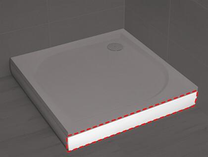 Paros - Noris D zuhanytálca előlap